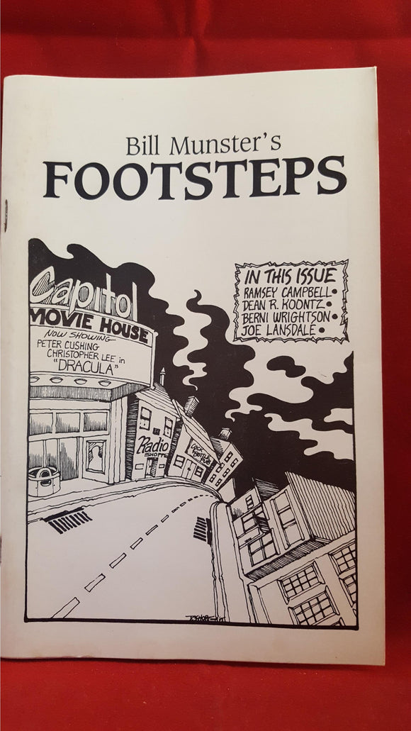 Bill Munster - Footsteps Number 6 December 1985