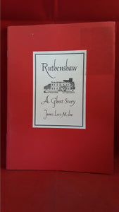 James Lees-Milne - Ruthenshaw, Robinson, 1994, 1st Edition