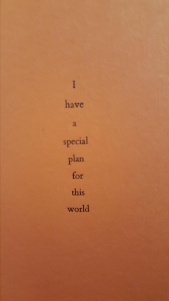 Thomas Ligotti-I Have A Special Plan For This World, No 3, Durtro, 2000, Signed