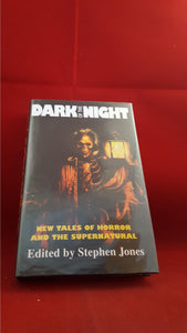 Stephen Jones - Dark of the Night, Pumpkin Books, 1997, 1st, Signed x 3