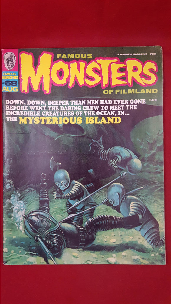 Famous Monsters Of Filmland Number 68 August 1970