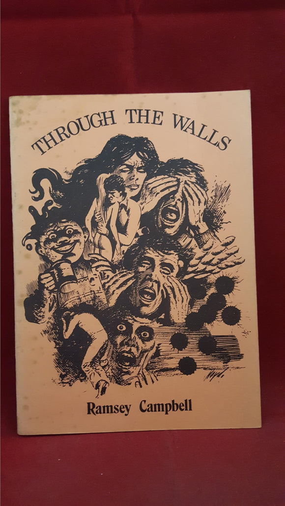 Ramsey Campbell - Through The Walls, BFS Booklet, 1981, 1st, Signed, Limited
