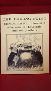 Clark Ashton Smith - The Boiling Point, Necronomicon, 1985, 1st Edition