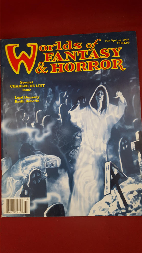 Worlds of Fantasy & Horror Spring 1995, Volume 1, Number 2, Terminus Publishing Co.