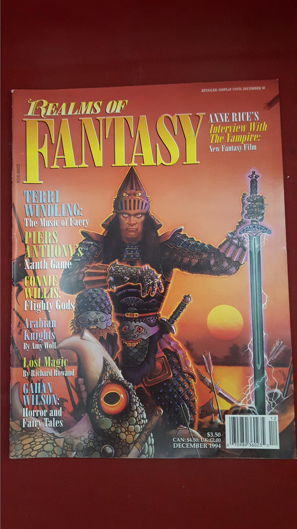 Realms of Fantasy - Sovereign Media Co, Volume 1 Number 2 December 1994