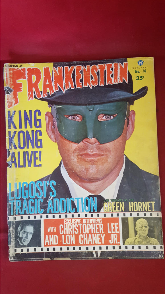 Castle Of Frankenstein Volume 3 Number 2, 1966, Gothic Castle Publishing Co