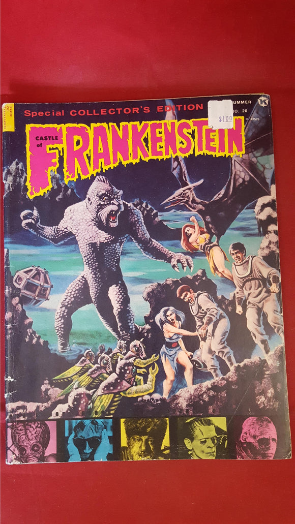Castle Of Frankenstein Volume 5 Number 4, 1973, Gothic Castle Publishing Co