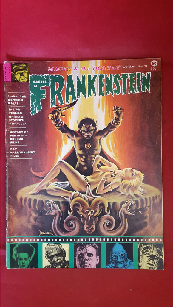 Castle Of Frankenstein Volume 5 Number 1, 1971, Gothic Castle Publishing Co