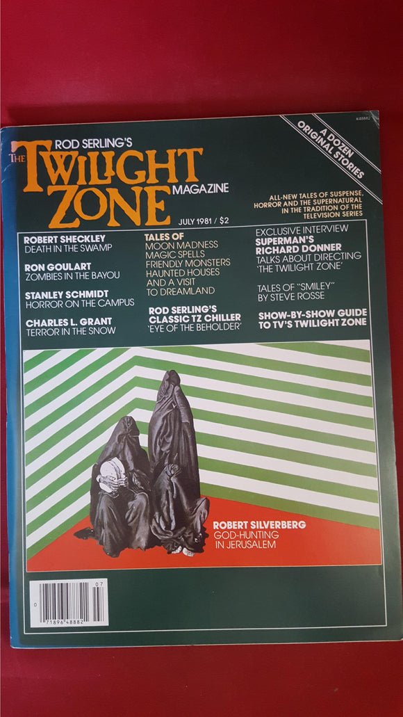 Rod Serling's - The Twilight Zone Magazine, July 1981