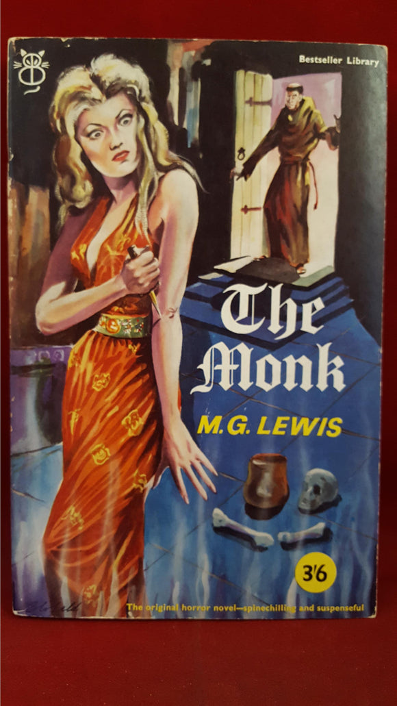 M G Lewis - The Monk, Paul Elek, 1960, First Edition