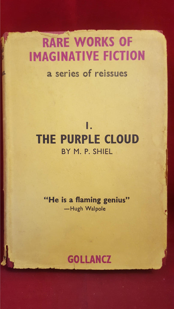 M P Shiel - The Purple Cloud, Gollancz, 1963