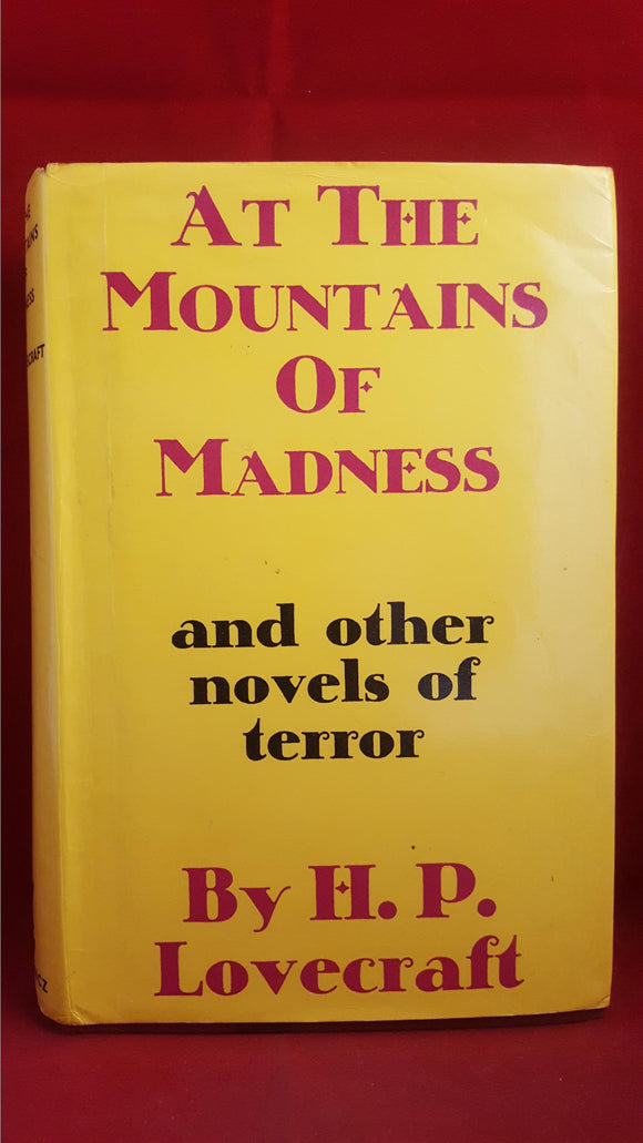 H P Lovecraft - At The Mountains Of Madness, Gollancz, 1966