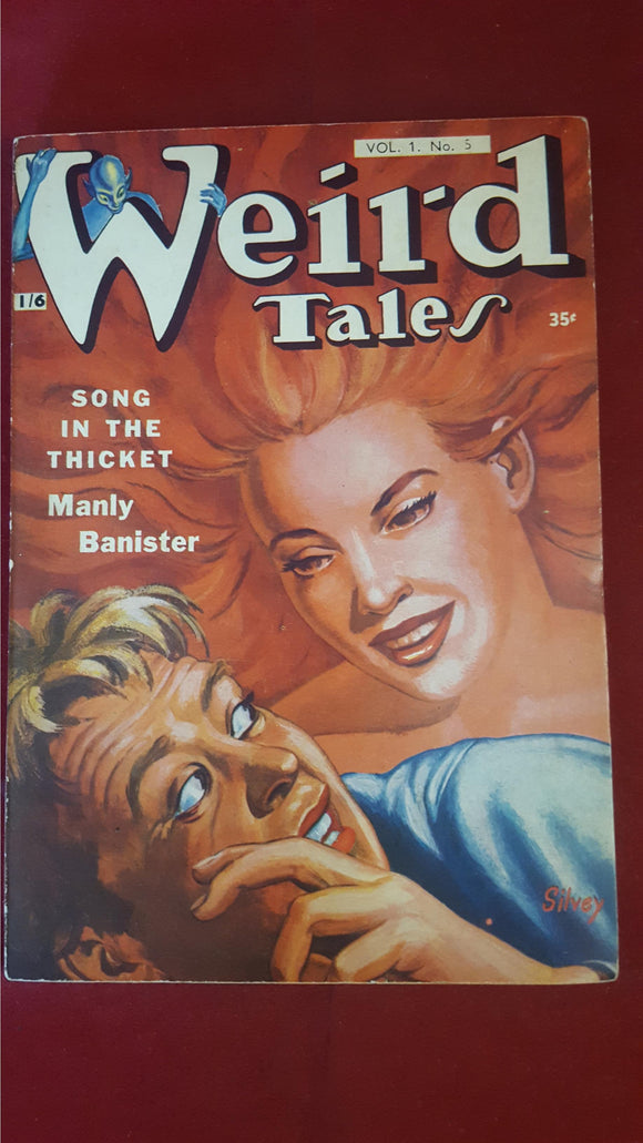 Weird Tales Vol 1, No. 5,  Strato Publications Ltd, British Edition