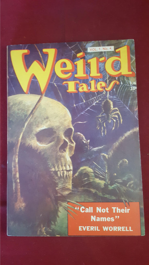 Weird Tales Vol 1, No. 4,  Strato Publications Ltd, British Edition
