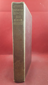 H Rider Haggard - Colonel Quaritch, V.C. Longmans, Green & Co, 1896, New Edition