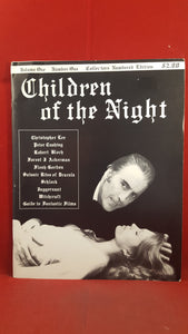 Children of the Night Volume 1 Number 1, Collectors Numbered Edition 385, March 1975