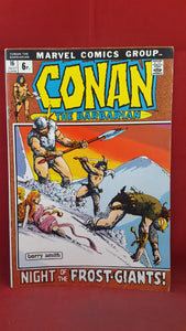 Conan The Barbarian Volume 1 Number 16 July 1972, Marvel Comics