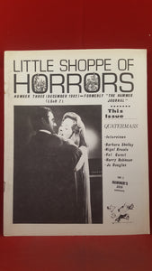Little Shoppe Of Horrors, Number 3 December 1982