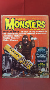Famous Monsters Of Filmland  Number 32  March 1965