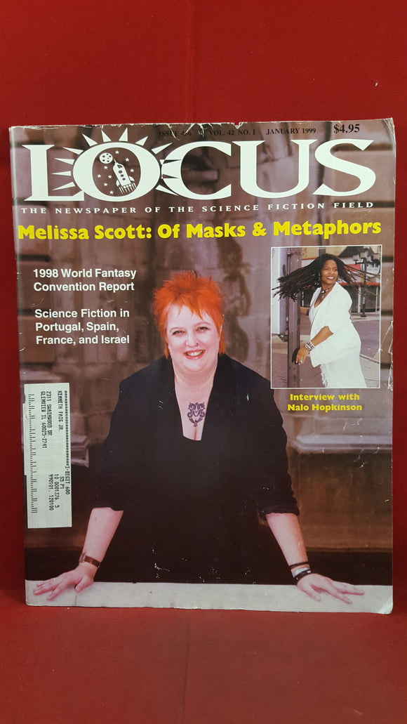 Charles N Brown - Locus  January 1999 Issue 456 Volume 42 Number 1