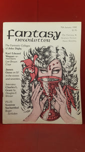 Fantasy Newsletter Volume 5 Number 1 Whole 44 January 1982