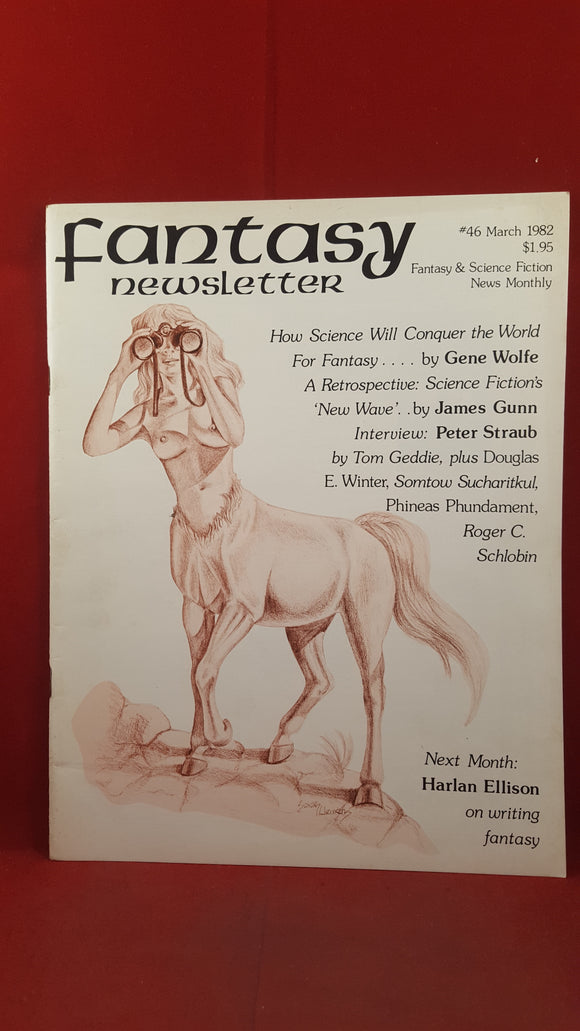 Fantasy Newsletter Volume 5 Number 3 Whole 46 March 1982