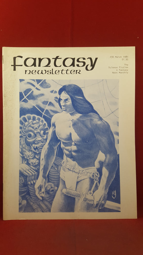 Fantasy Newsletter Volume 4 Number 3 Whole 34 March 1981