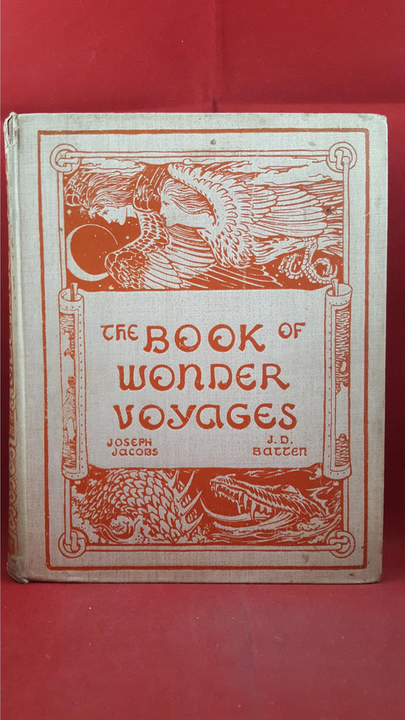 Joseph Jacobs - The Book Of Wonder Voyages, David Nutt, 1896