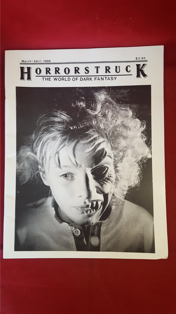 Horrorstruck - The World Of Dark Fantasy, Volume 1, Number 6,  March/April 1988