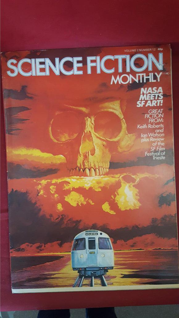 Pat Hornsey - Science Fiction Monthly Volume 2 Number 12, 1975