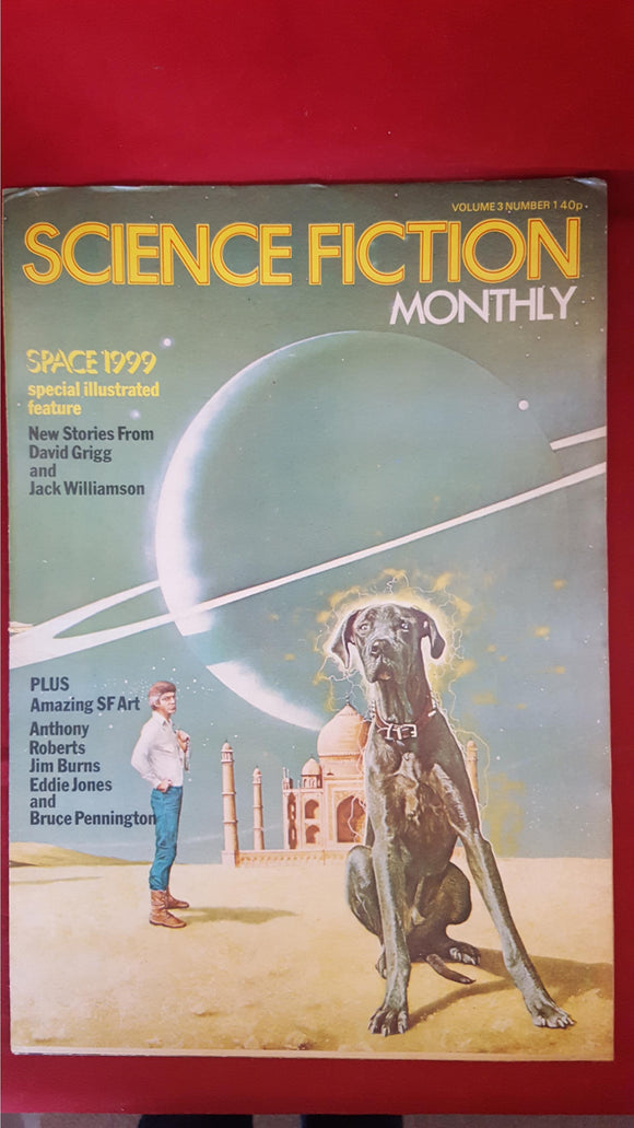 Pat Hornsey - Science Fiction Monthly Volume 3 Number 1, 1976