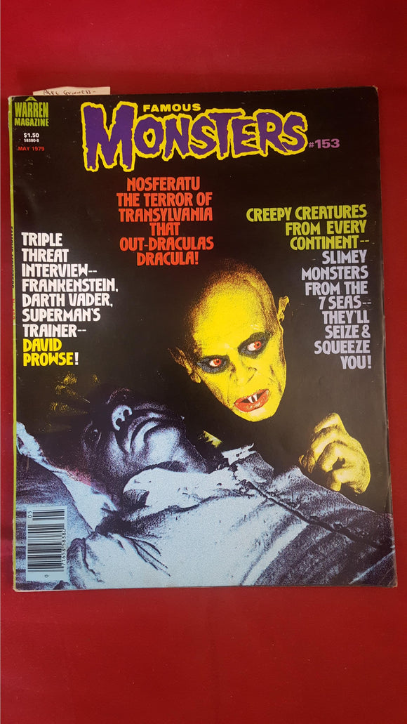James Warren - Famous Monsters Issue Number 153, May 1979