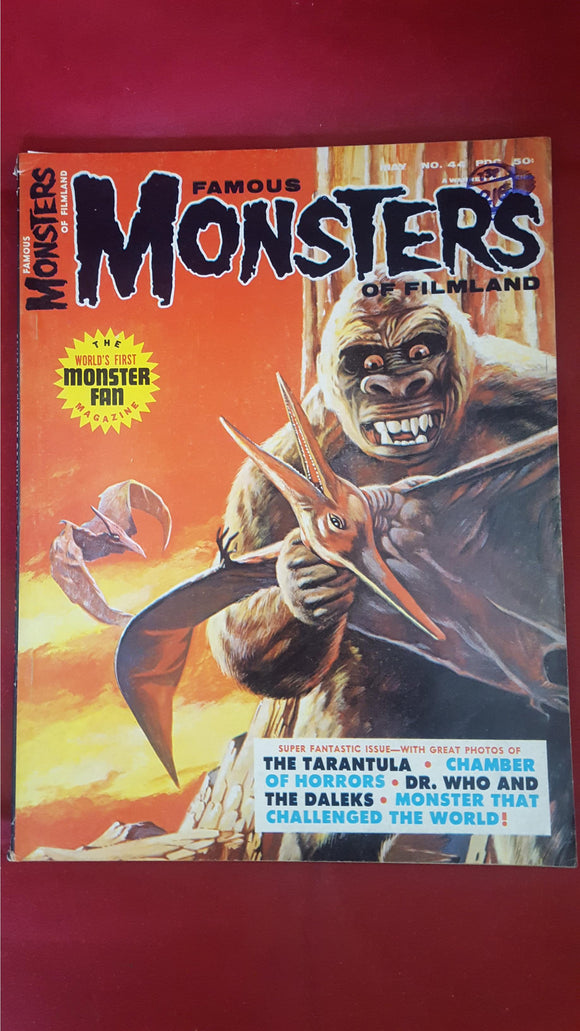 Famous Monsters Of Filmland Number  44 May 1967