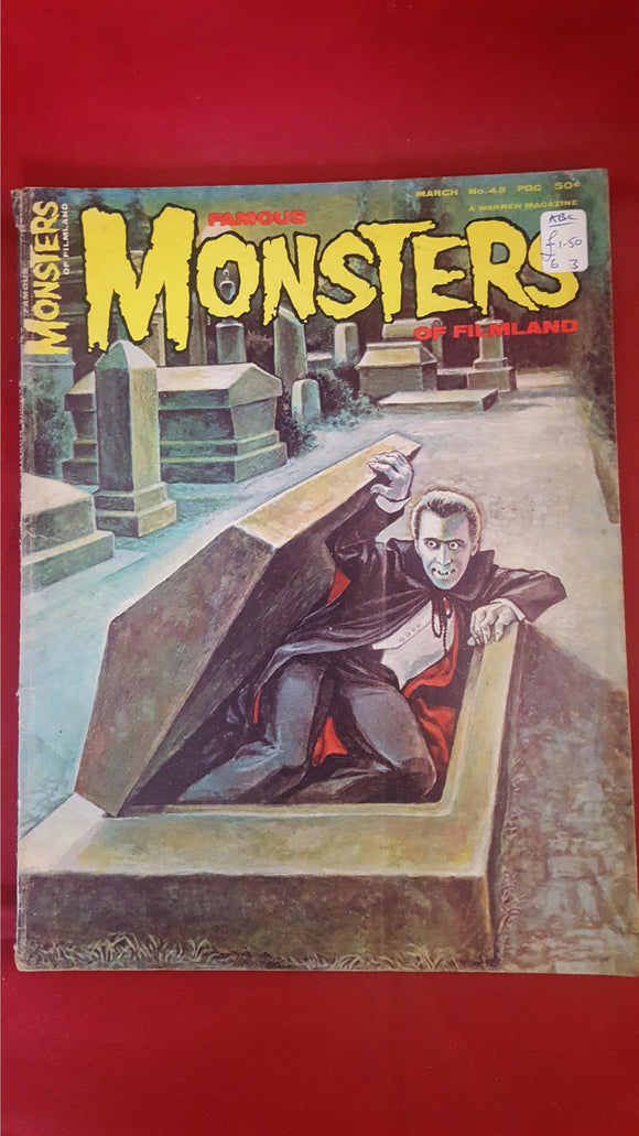 Famous Monsters Of Filmland Number 43 March 1967