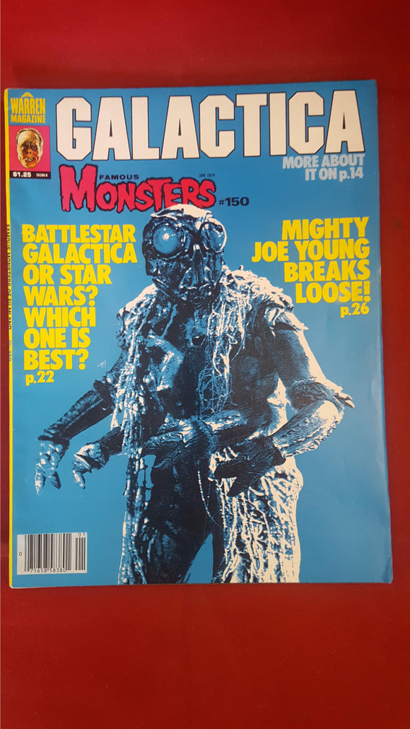 James Warren - Famous Monsters Issue Number 150, January 1979