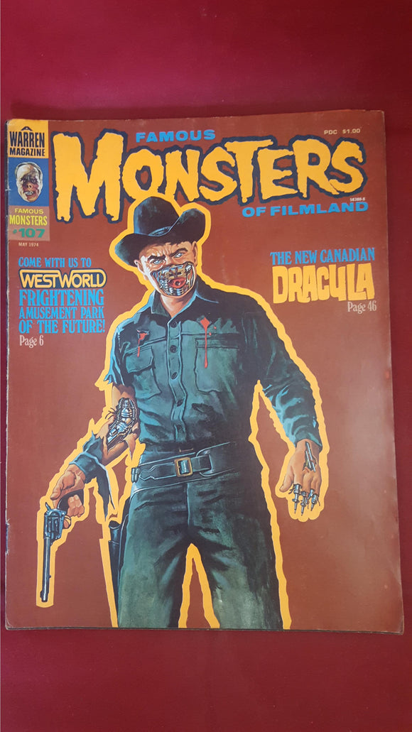 Famous Monsters Of Filmland Number 107 May 1974