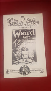 The Weird Tales Collector Number 1 1977, Robert Weinberg