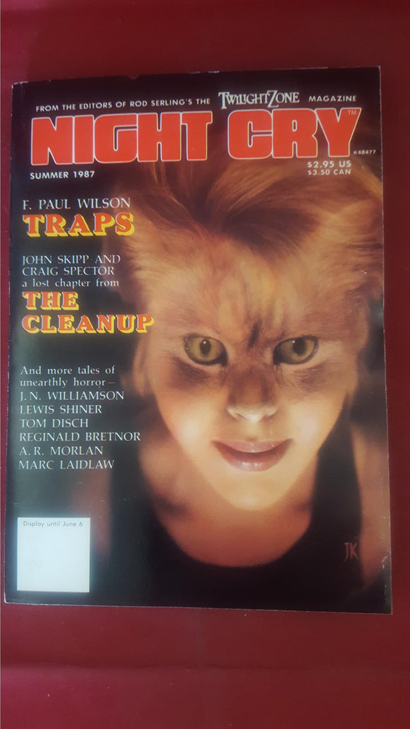 Night Cry - The Magazine Of Terror, Vol. 2, No. 4, Summer 1987