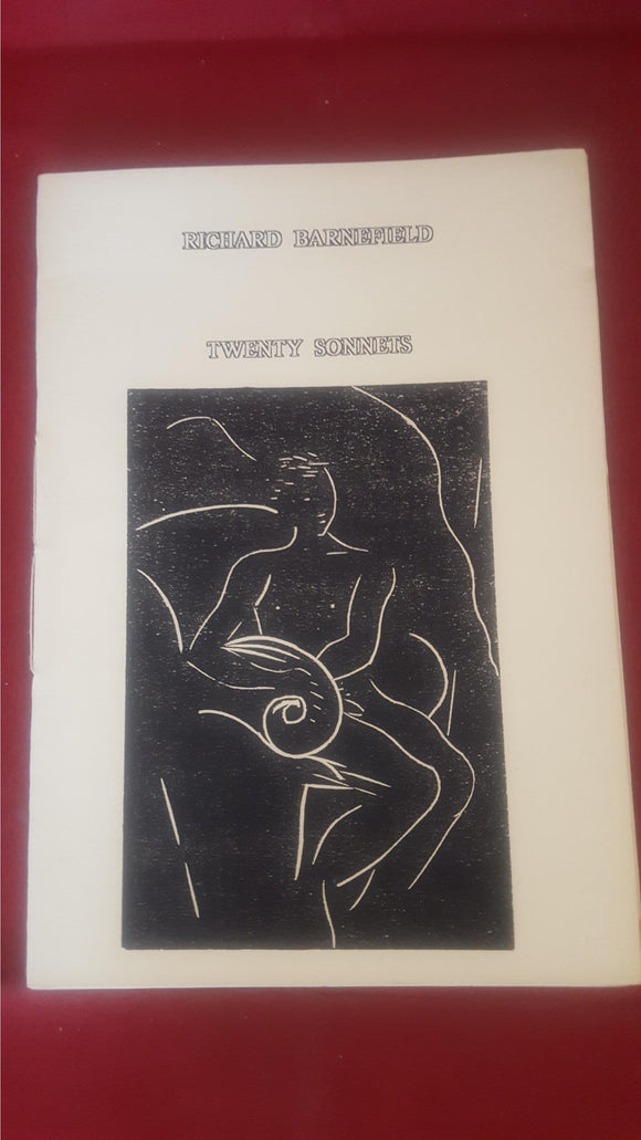 Richard Barnefield - Twenty Sonnets, Hermitage Books, Numbered 27/50