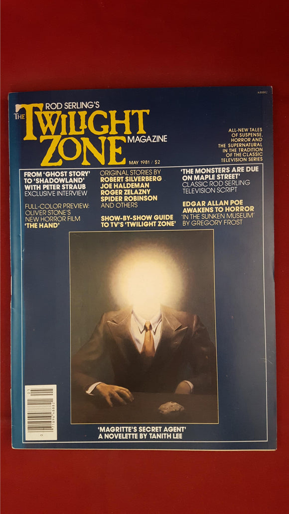 Rod Serling's - The Twilight Zone Magazine, May 1981