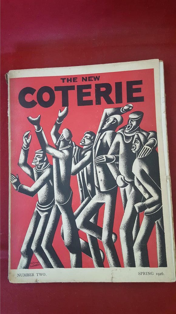 The New Coterie Number 2 Spring 1926 & Number 4 Autumn 1926, Art & Literature