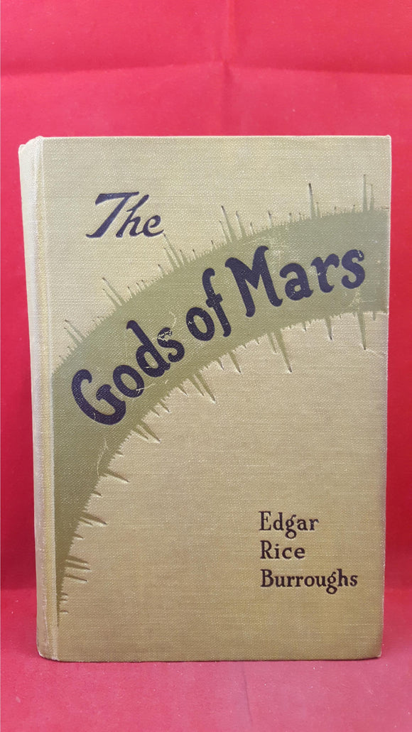 Edgar Rice Burroughs - The Gods of Mars, Grosset & Dunlap, 1918