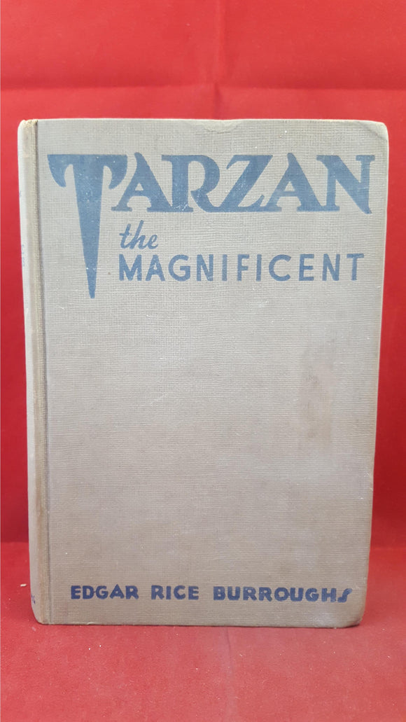 Edgar Rice Burroughs - Tarzan the Magnificent, Burroughs Inc, 1939, First?