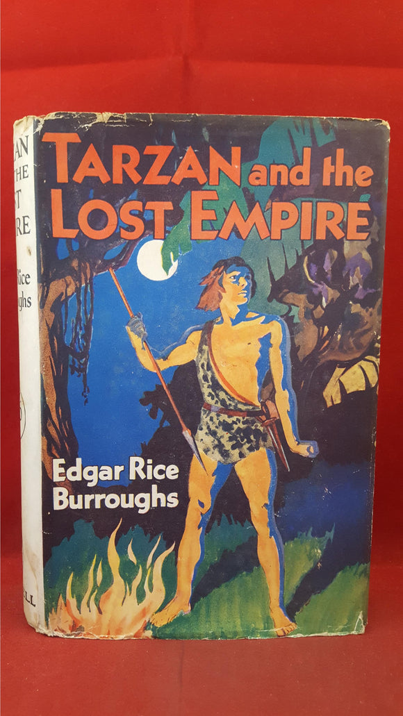 Edgar Rice Burroughs - Tarzan and the Lost Empire, Cassell, 1931, First GB Edition
