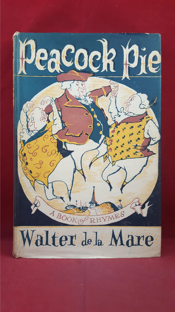 Walter de la Mare - Peacock Pie, Faber and Faber, 1941, New Edition