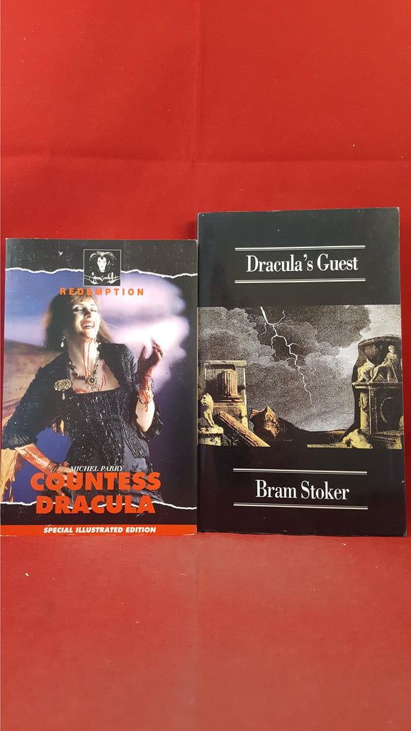Michel Parry-Countess Dracula, 1995, First Edition & Bram Stoker-Dracula's Guest 1990