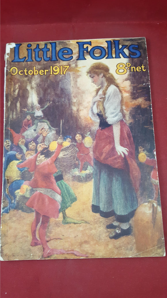 Little Folks Magazine October 1917