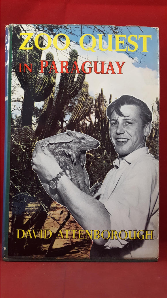 David Attenborough - Zoo Quest In Paraguay - 1959 & Quest - 1963, First Editions
