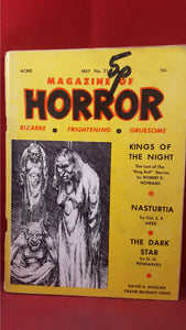 Magazine of Horror, Volume 4, Number 3  May 1968