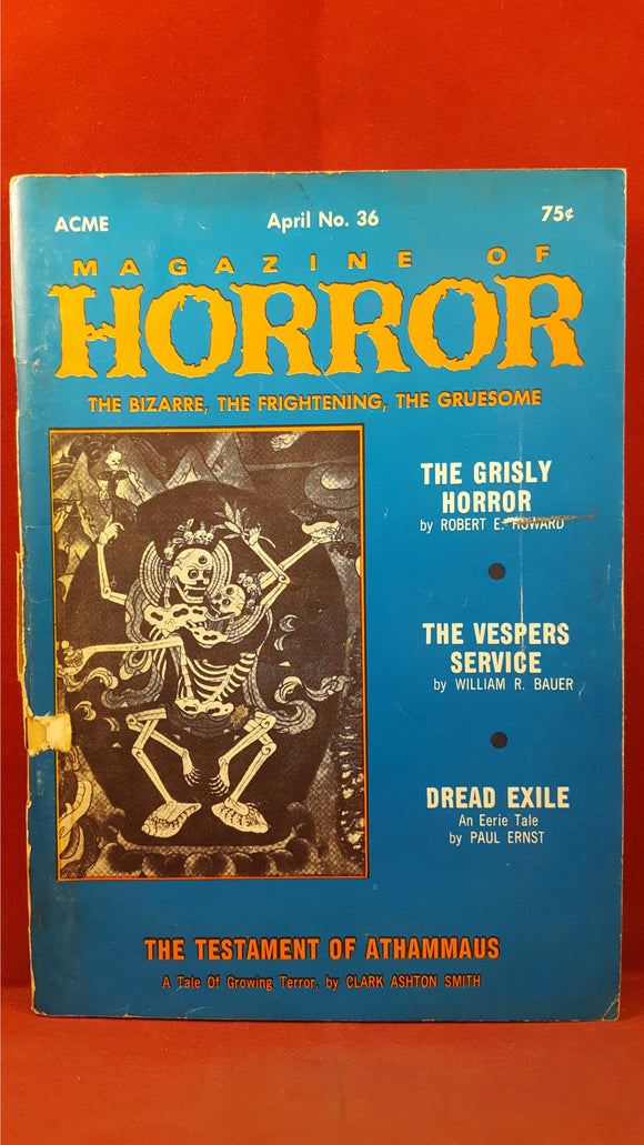 Magazine of Horror, Volume 6, Number 6  April 1971